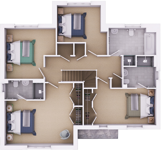 The Durrington first floorplan