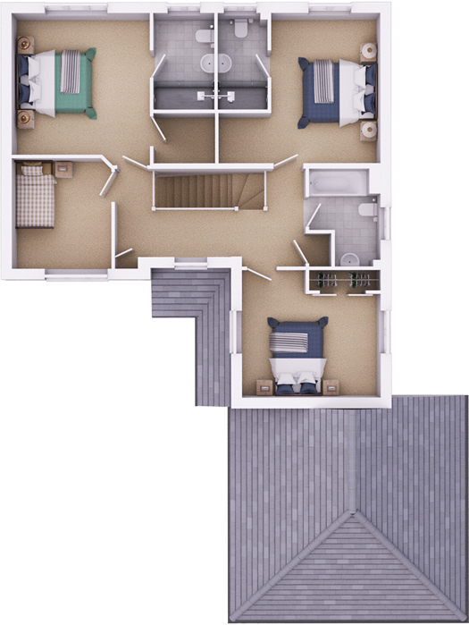 The Ramsbury first floorplan