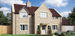 Nine generous family homes in this stunning development near Malmesbury