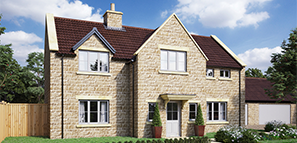 Two houses available at this stunning development near Malmesbury