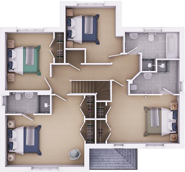 The Durrington ground floor plan