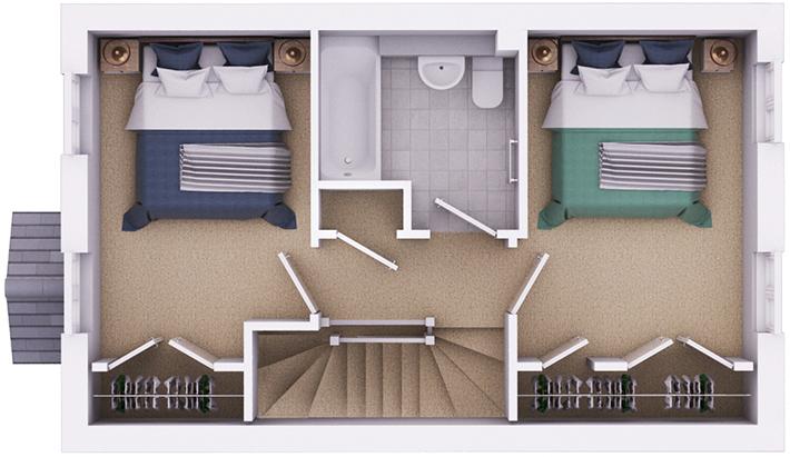 The Grafton ground floor plan